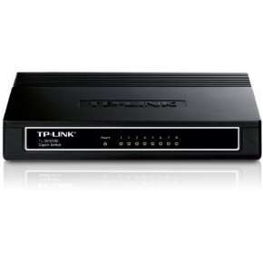 Switch TP-LINK 8 ports soho Gigabit Noir TL-SG1008D