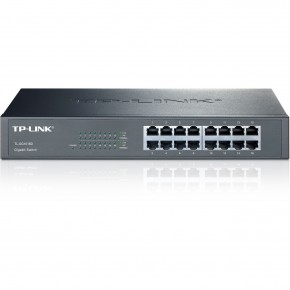 Switch TP-LINK 16 ports rackable Gigabit Noir TL-SG1016D