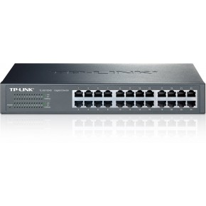 Switch TP-LINK 24 ports rackable Gigabit Noir TL-SG1024D