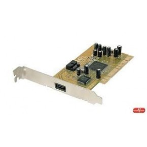Carte PCI - 1 port SATA + 1 port E-SATA
