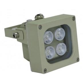 Focale d'éclairage IR avec portée 80 mètres, 45º