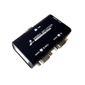 Splitter VGA 2 ports - 250 MHz - 1920x1440 - alimentation USB
