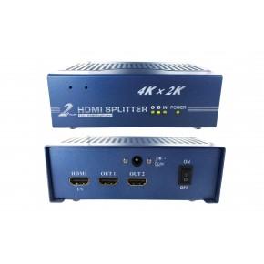 Splitter HDMI 1.4 - 2 ports - 4Kx2K 3D