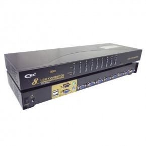 KVM console USB - 8 ports rackable