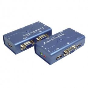 KVM console VGA/USB/audio - 2 ports