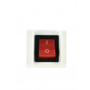 Plastron 45x45 interrupteur lumineux
