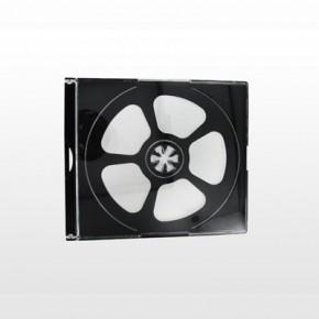Boitier plastique transparent pour 4 CD & DVD