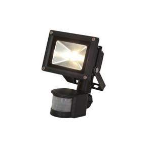 """Projecteur LED Avec Détecteur """"BERMUDES"""" 10W 6000°K - 800 Lms angle 1"""