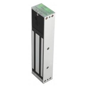 Ventouse 500kg en saillie lumineuse + relais - conforme NFS - Dimension : 266x66x40 mm - 12 / 24 VCC - conso : 550 / 275mA