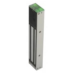 Ventouse 300kg en saillie Lumineuse + relais -12 / 24VCC - conforme NFS - Dimension : 248x45x26 mm – conso : 550 / 275mA
