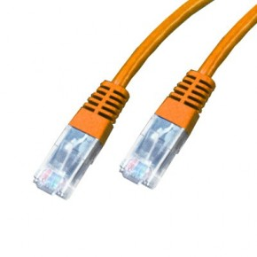 Cordon Cat 5e UTP Orange - 0,70m