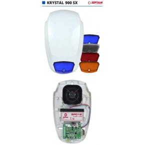 Sirène extérieure autonome 110 dB - caractéristiques identiques 800SE + Flash