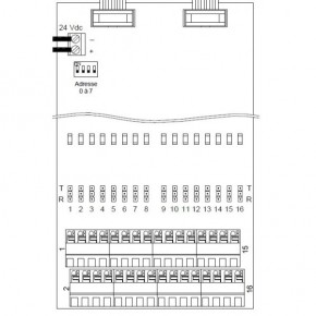 Carte 16 relais programmables externe sans coffret