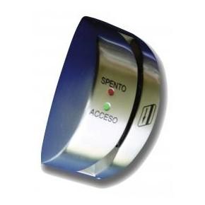 Lecteur magnétique à défilement en Inox - sortie Wiegand 30 bits / C&D - 2 led de signalisation