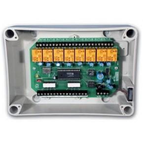 Module d'extension 8 Entrées/8 Sorties CRT 5A en boitier ABS - Bus RS485 - Prévoir alim 12Vcc