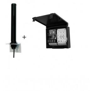 Récepteur radio portée 100M, 4 canaux,4 sorties,2,4GHz,sortie wiegand & dataclock