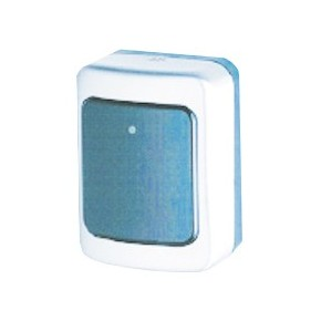 Lecteur mural Mifare PAGASYS 700 - boîtier IP65 pour montage extérieur - sortie relais pour cde porte